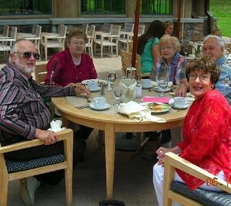 Gene & Claudia Hess, Bonnie & Wayne Eldredge, Mary Lynne Barlow
