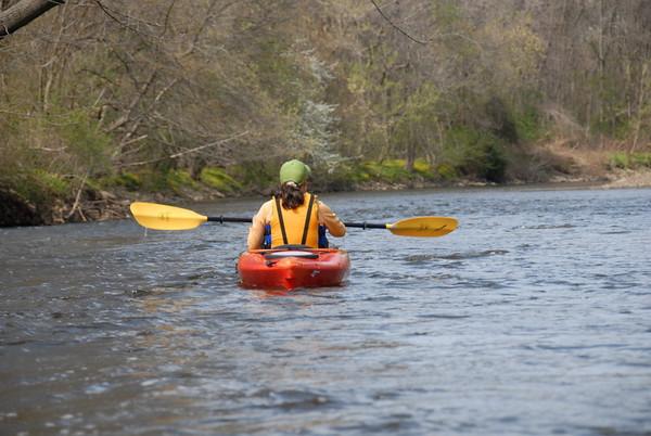 2009-04-19 Kayaking Passaic Chatham to S.Orange Ave