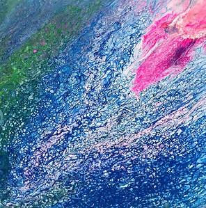 """Constellation"" (acrylic) by Amanda June"