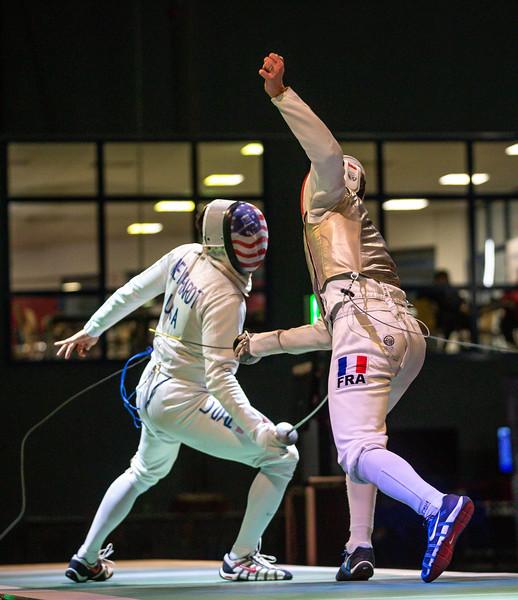 Bonn, Deutschland - Impressions of the Löwe von Bonn 2019. Gold Medal Match Julian MERTINE FRA vs. Gerek MEINHARDT USA  Photos by: Jan von Uxkull-Gyllenband