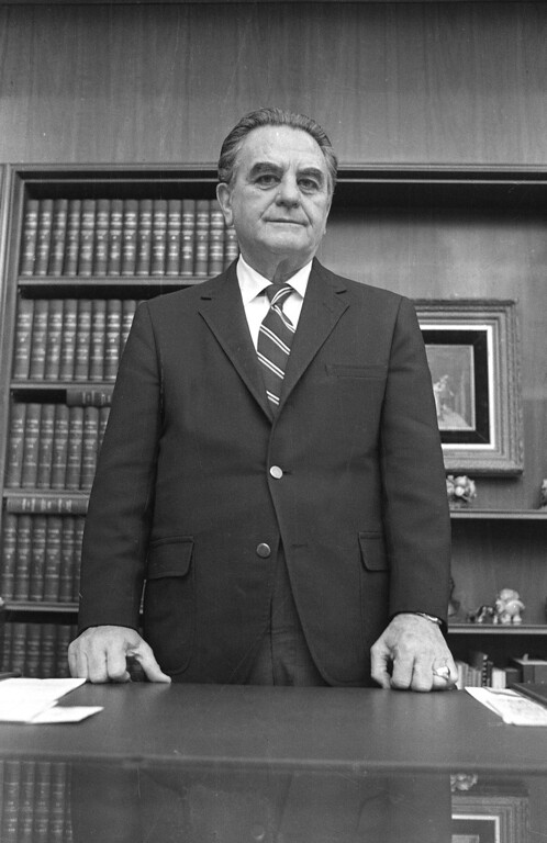 . 1973: John Sirica. U.S. District Court Judge John Sirica in his office in Washington in 1973. The National Archives is publishing for the first time more than 850 pages of once-secret documents from the Watergate political scandal, including privileged legal conversations and prison evaluations of some Watergate burglars. A judge decided earlier this month to unseal the material.The files do not appear to provide any significant new revelations, but they provide context by revealing behind-the-scenes deliberations by the judge in charge of the case, U.S. District Court Judge John J. Sirica, along with prosecutors and defense lawyers. The files showed the judge at times discussing the case with special prosecutors and justifying his attempts to learn new facts in the case. (AP Photo)