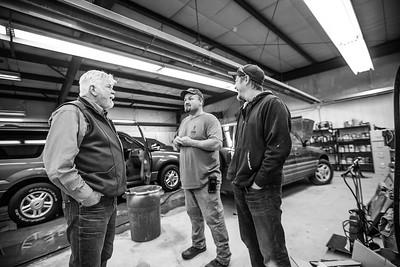 Frontline Motors/ Cowboy Cafe, Winter 2017