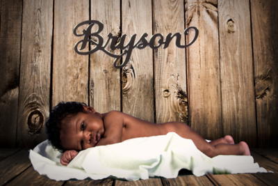 Bryson's 1st Month Pictures
