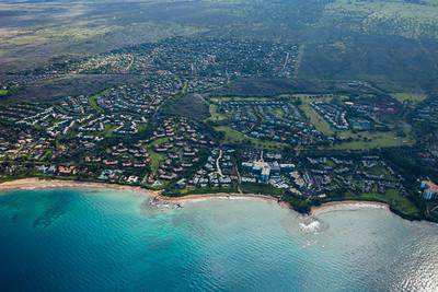 South Maui Aerial Photo/Wailea