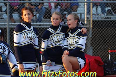 Varsity Cheer at Los Osos