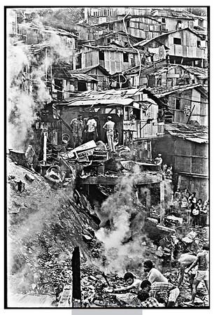 Incêndio na comunidade Dona Marta