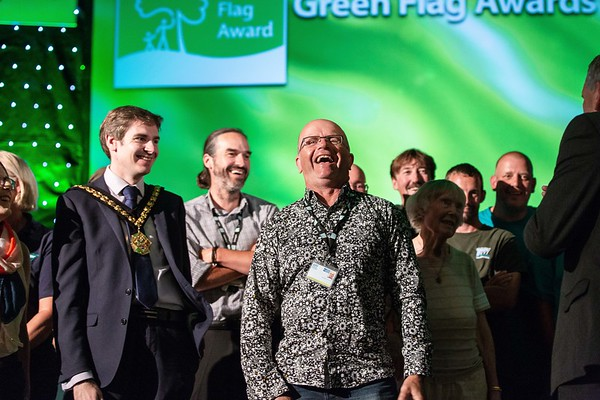 Keep Britain Tidy Green Flag Awards:   Barry