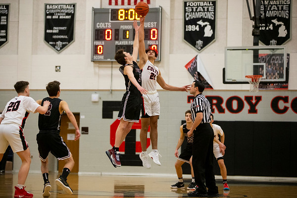 2019-12-10 Troy Vs Berkley basketball at Troy High - Brian Sevald Photo