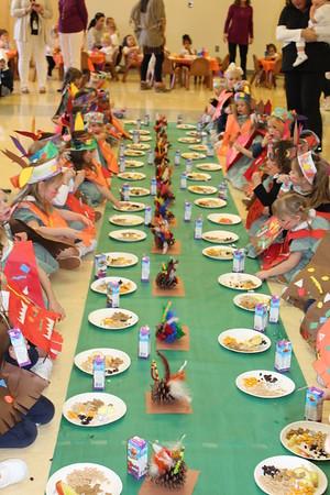 Little Hearts & Preschool Thanksgiving Feast (11.21.16)