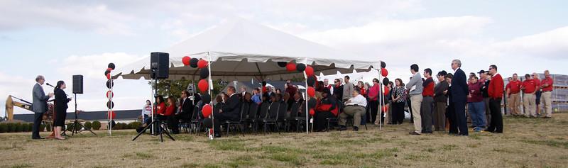 Tucker Student Center Ceremony