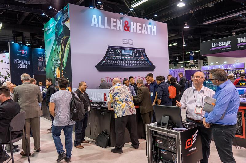 Allen & Heath Booth