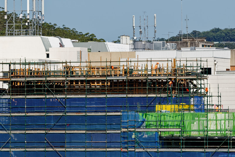 Gosford Hospital building progress  October 30, 2018.   (h60ed)