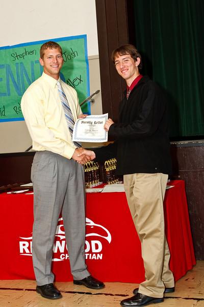 RCS HS Spring Sports Awards - May 19, 2009