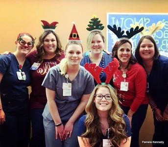 2017 12-25  BS Nurses Christmas
