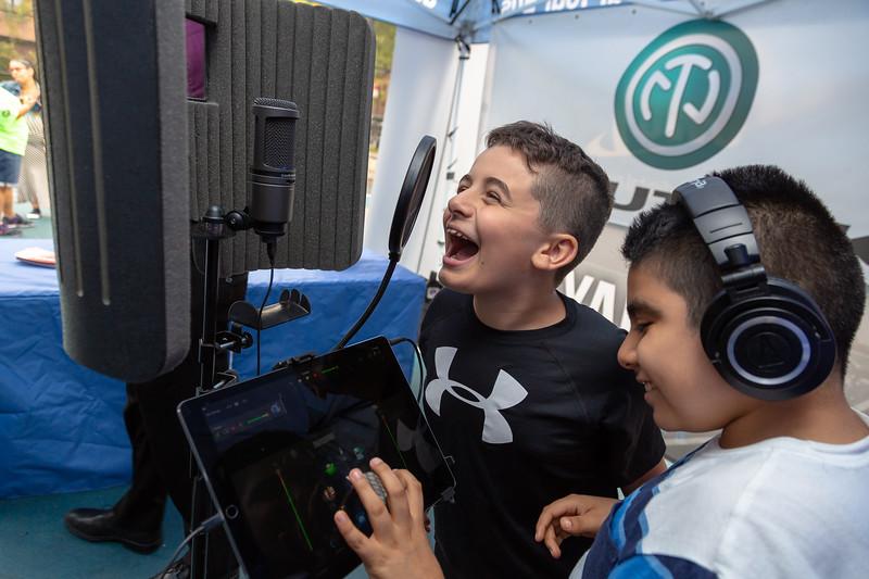 2018_09_21, Audio-Technica, Creator Station, Flushing, Neutrik, New York, NY, PSMS200, Tents