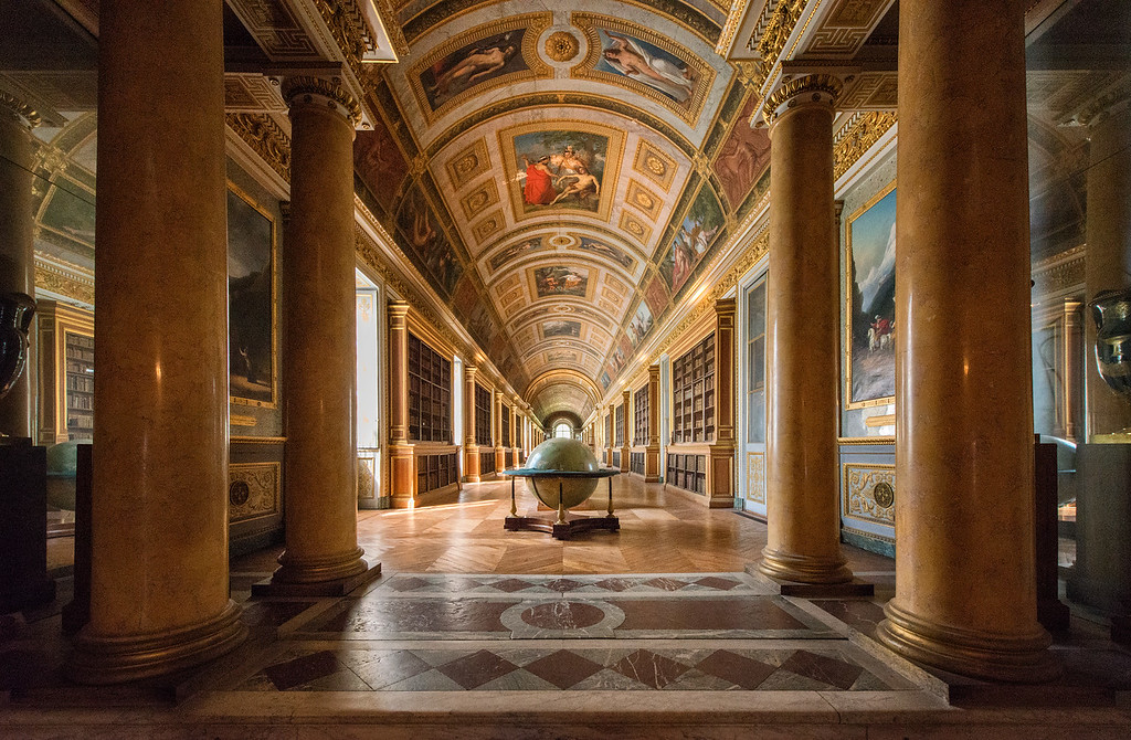 Palace of Fontainebleau, France - 2015