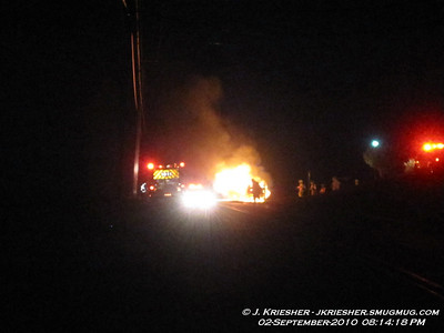 Lehigh County - N. Whitehall Twp. - Vehicle Fire - 9/2/2010