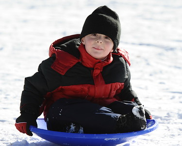 12/27/2010 Sledding at Little Flower School