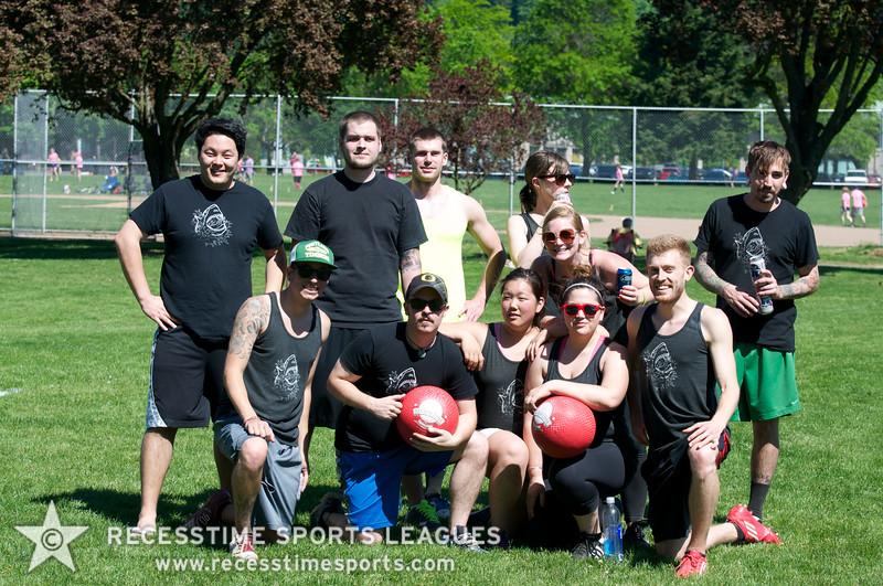 Recesstime Sports Leagues Portland Kickball Spring 2013 Dodgeball Bowling Ping Pong Mushball - 187