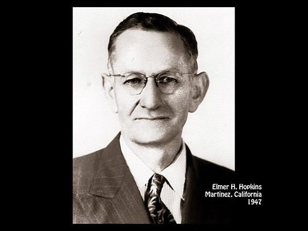 Elmer H. Hopkins, Martinez, California in 1947.
