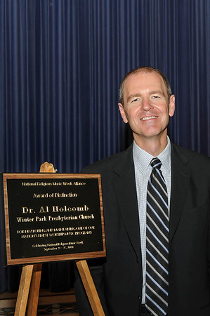 Dr. Al Holcomb National Music Award 9-27-2009