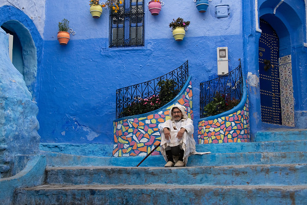 """Morocco - ChefChaouen, the """"Blue City"""""""