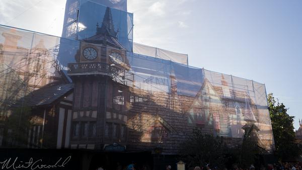 Disneyland Resort, Disneyland, Fantasyland, Peter Pan, Peter Pan Flight, Facade, Refurbishment