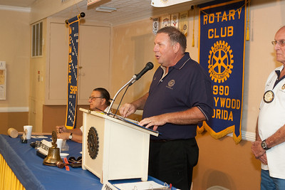 July 7th 2009 Hollywood Rotary Luncheon meeting