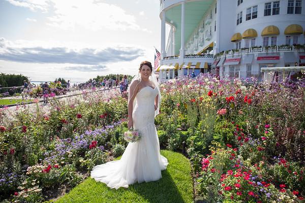 Grand Hotel Wedding west porch Jockey Club Photography