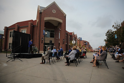 Dedication of the Peter and Susan Smith Welcome Center and Smeltzer-Kelly Student Health Center