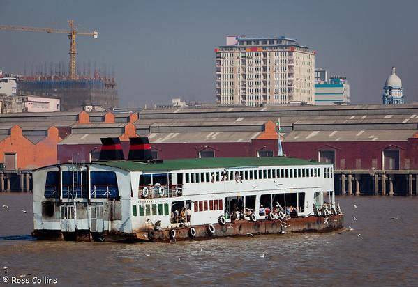 Yangon to Dalah Ferry 2013