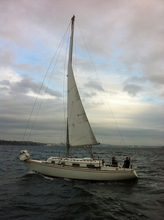 Sailing to Eagle Harbor for FHR
