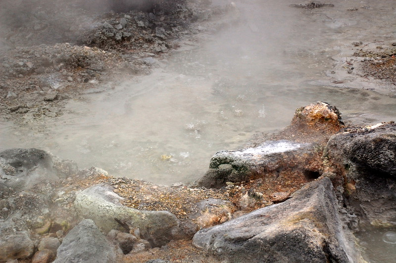 Unzen Jigoku hot springs