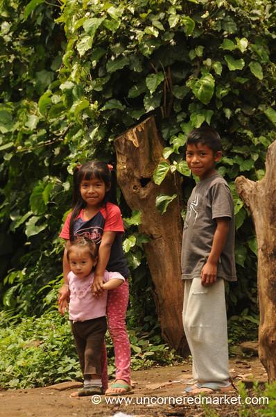 Sibling Love - Ataco, El Salvador