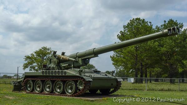 Fort Chaffee Gate Guard - Little Rock, AR - M110
