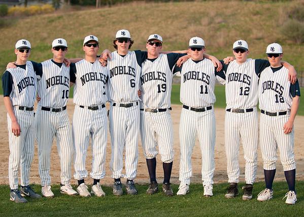 4/27/2009 - Nobles Boys Varsity Baseball vs Dexter