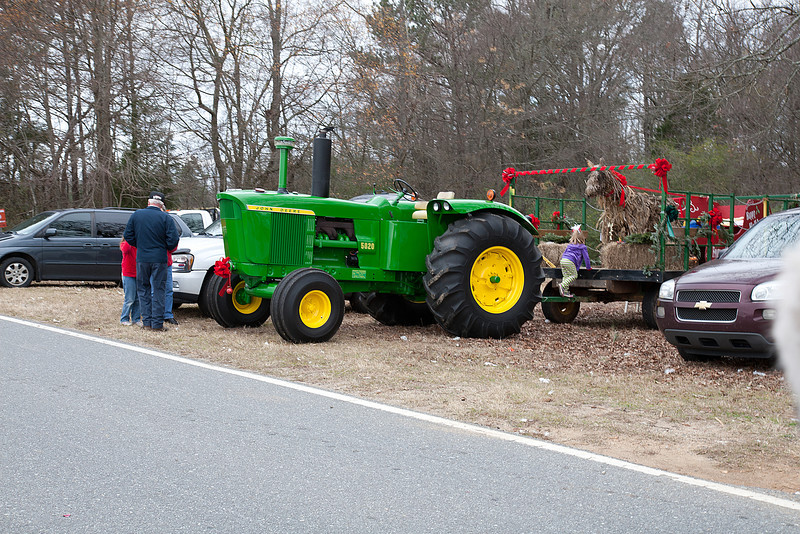 Annual Lowrys Parade of Tractors and Horses