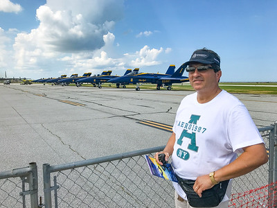 2018 Cleveland Air Show featuring the U.S. Navy Blue Angels