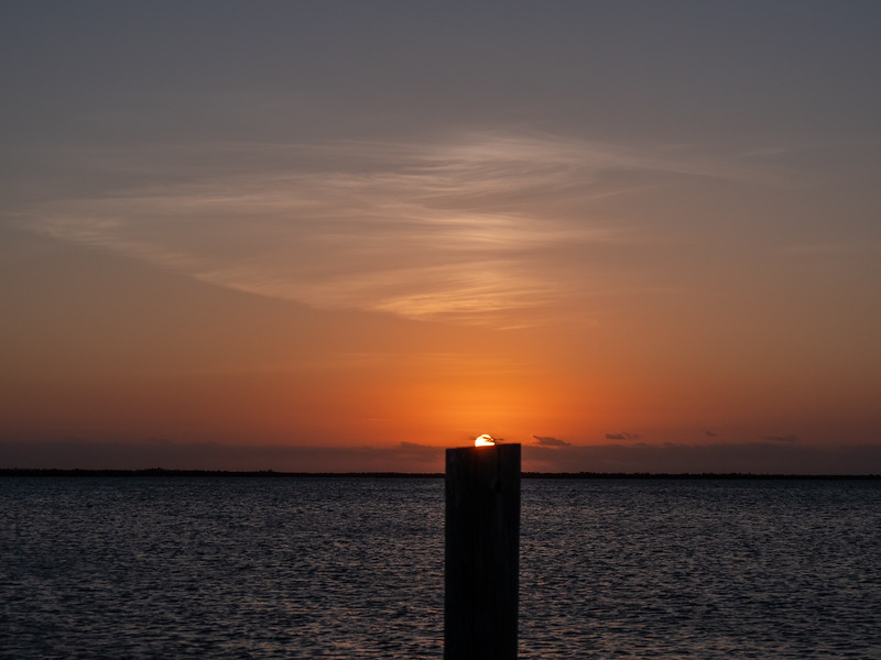 big torch key sunset