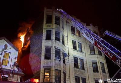 4 Alarm Fatal Apartment Fire - 64 Bruce Ave, Yonkers, NY - 1/1/21