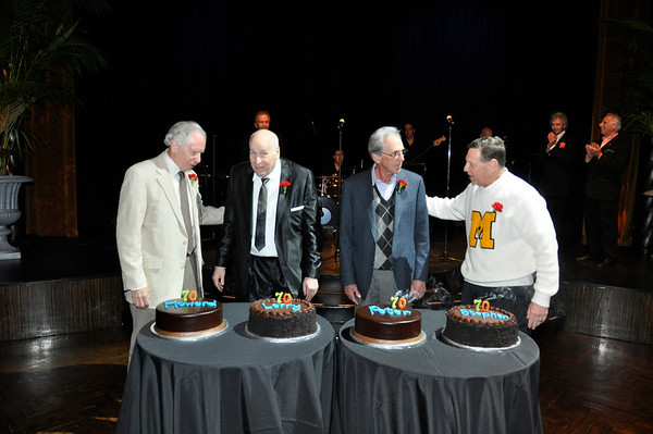 70th Birthday Party for Larry, Howard, Stephen and Pater, Oct 16, 2011