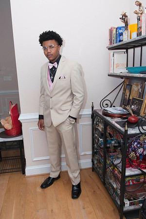 Latrell Johnson Prom 2016