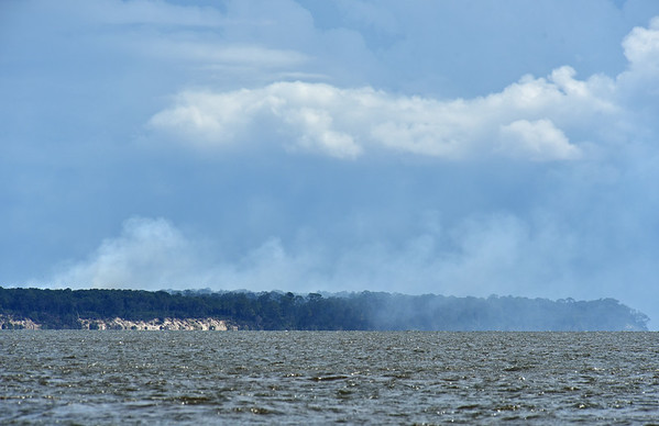 Jekyll Island Boat Tours Cumberland Fires and Little Cumberland Lighthouse 07-12-19