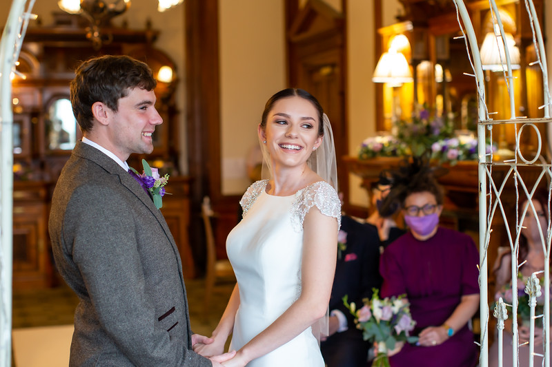 Phoebe and Jay at Merewood Country House Hotel, Windermere