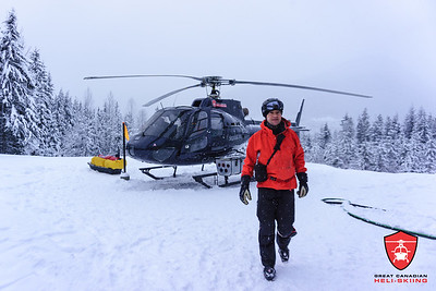 December 28, 2017 Great Canadian Heli-Skiing Guide Photos