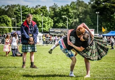 Scottish Backhold Wrestling at Helensburgh