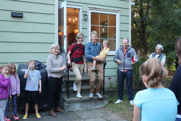Courtright House Blessing & Young Families