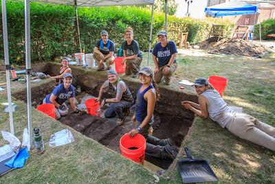 Coles Hill Archeological Dig-June 2021