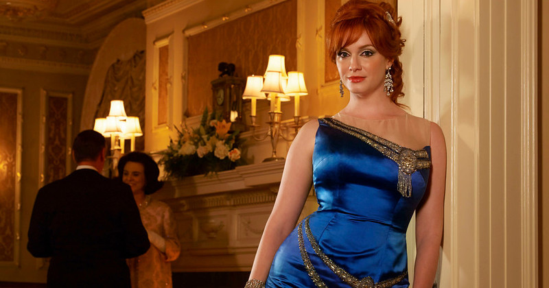 . Joan Harris (Christina Hendricks) - Mad Men - Season 6. (Photo by Frank Ockenfels/AMC)