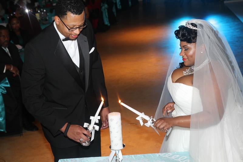 Mr. & Mrs.  KRYSTAL & CURTIS GREEN WEDDING DAY 2015